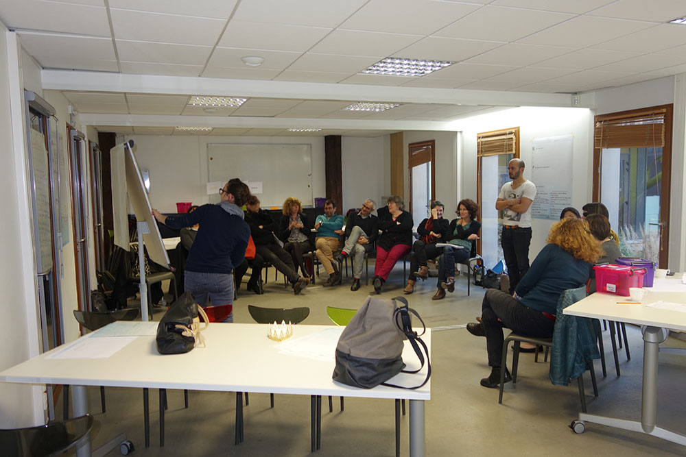En mode workshop de créativité
