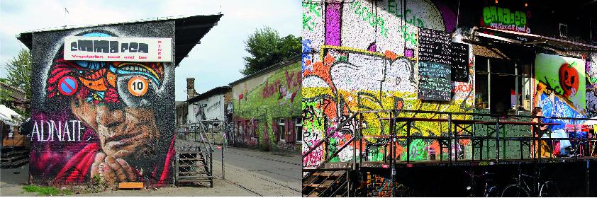 EMMA PEA - lieux inspirants à Berlin